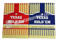 Chiny Texas Holdem Playing Card With Poker Size And Jumbo Index Made By Plastic firma