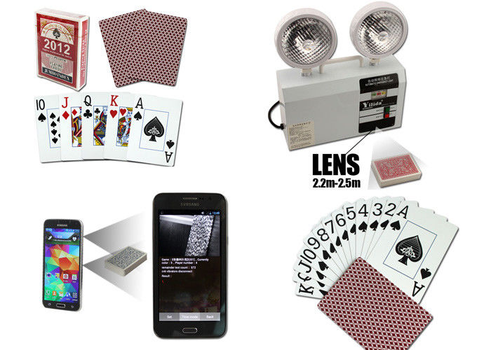Las Vegas Casino Side Marked Barcode Spy Playing Cards For Poker Analyzer