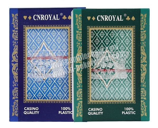 P.R.C CNROYAL Plastic Invisible Playing Cards For Poker Analyzer And Contact Lenses