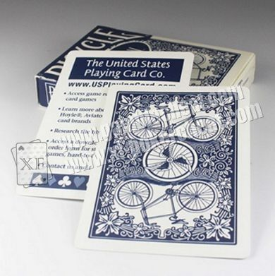 Rummy Bicycle Paper Playing Cards Marked With Poker Cheating Invisible Ink For Lenses