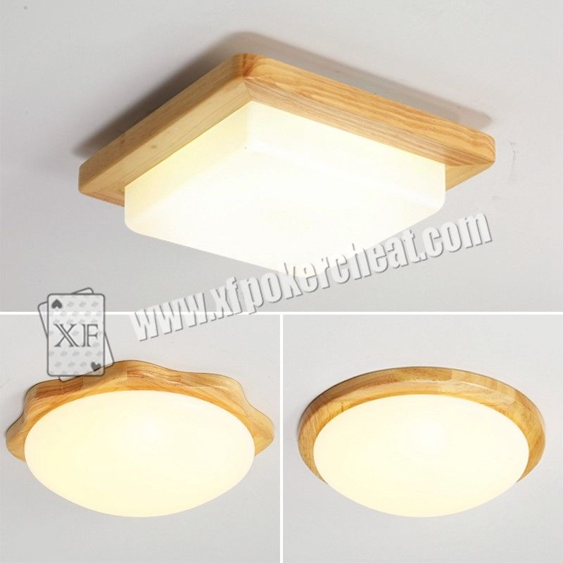 Glass Material Ceiling Lamp For Long Distance Infrared Playing Card Scanner