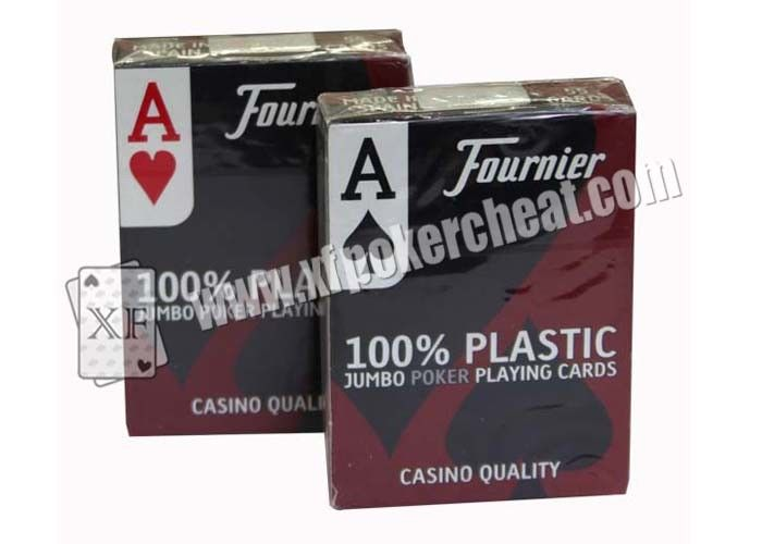 2 Jumbo Index Gambling Props No. 2800 Poker Size Playing Cards