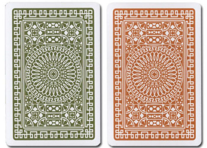 Club Gambling Props Plastic Bridge Size Playing Cards / Poker Cheat Card