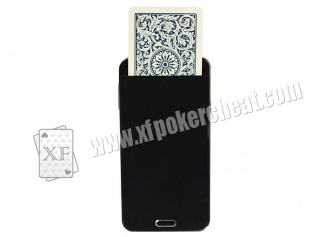 Black Plastic Samsung Note 3 Mobile Poker Cheat Device / Gambling Poker Cheaters