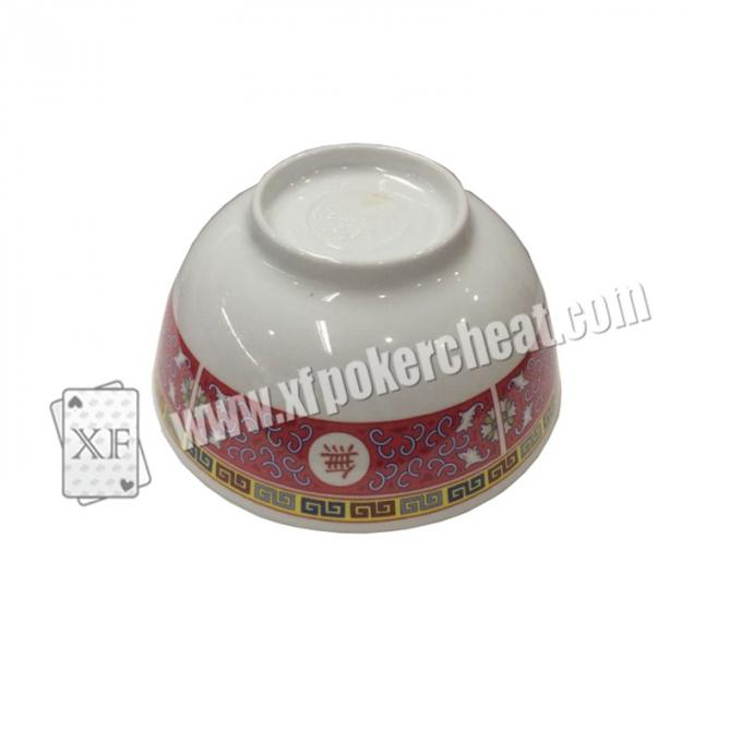 Perspective Dice Bowl  See Through Casino Dices Gamble Cheating Device